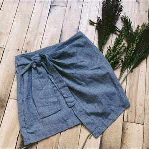 HYFVE Wrap Skirt Bow